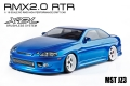 MST RMX 2.0 RMX 2.0 1/10 Scale 2WD RTR EP Drift Car (brushless) JZ3 Blue by MST