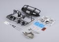 Killerbody Traxxas TRX-4 1/10 Aluminum Bumper w/ LEDS Upgrade Sets Matt Black LC70 Conversion for TRX4