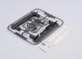 Traxxas TRX-4 Pedal w/ Anti Skid Plate LC70 Conversion for TRX4 by Killerbody