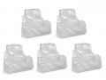 Miscellaneous All Clear Lexan 1/10 Power Wagon Crawler Body (5pcs) For 313mm Chassis by Team C