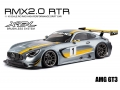 MST RMX 2.0 1/10 Scale RWD RTR EP Drift Car AMG GT3 Silver (Brushless) by MST
