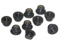 Miscellaneous All 1:10 Metal M4 Hexagon Locking Nut For RC On-Road Offroad Crawler Drift Car DCA-9114 (5Pcs) by Team DC