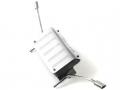 Traxxas TRX-4 1:10 Simulation Metal Fuel And Exhaust Pipe Kit For TRAXXAS TRX-4 Defender DJC-9158 (1KIT) by Team DC