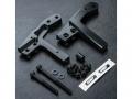 MST MST RMX 2.0 RMX 2.0 Aluminium Rear Upper Deck Support Black