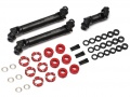 Boom Racing D90/D110 Chassis Complete BADASS™ HD Steel Center Drive Shaft Set for Boom Racing D90/D110 Chassis Front Center & Rear (3) [Recon G6 Certified] by Boom Racing