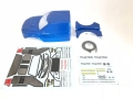 Traction Hobby Traction Hobby Cragsman F150 1/8 Lexan Body Set for Cragsman & Founder II Blue