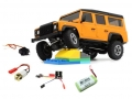 Orlandoo Hunter Model Defender 1/32 Orlandoo 4WD Defender Crawler Kit OH32A03 Combo (Kit, Servo, Motor, PCB) w/ free Lipo Battery by Orlandoo Hunter Model