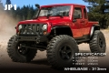 MST 1/8 CFX-W CFX-W 4WD High Performance Off-Road Car Kit JP1 by MST