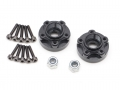 Boom Racing Miscellaneous All XT504 5-Lug Aluminum 12mm Wheel Hub Adapters 4MM Offset (2)