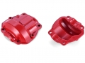 RGT 1/10 Rock Cruise EX86100 Aluminum Portal Axle Box Cover Red (2) by RGT