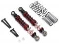 Boom Racing BRX01 Rear Aluminum Double Spring Shocks 80mm w/ Optional Soft Springs (2) by Boom Racing