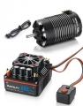 Hobbywing Miscellaneous All XeRun 1/8 Combo XR8-Plus-Black 1900KV 4268SD-Sensored-G2-Black Motor