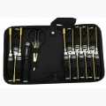 Miscellaneous All 14 Pcs Tool Bag Set with Titanium Coated Tips  by Hobby Details