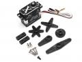 Miscellaneous All 45KG Waterproof Aluminum Case Brushless Metal Gear Digital Servo 0.11S 45kg @8.4V by JX Servo