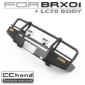 Boom Racing BRX01 ARB Front Bumper + IPF LED Light by CChand