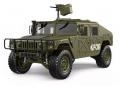 TRASPED TRASPED HG-P408 HG P408 1/10 4WD US Military Crawler Truck ARTR 30+km/h Green
