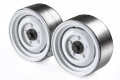 Miscellaneous All 1.9 Metal Classic Beadlock Wheel #Series II Defender (2) White by GRC