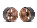 Boom Racing Miscellaneous All TE37XD KRAIT™ 2.2 Deep Dish Aluminum Beadlock Wheels w/ XT601 Hubs (2) Bronze