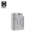 Miscellaneous All Scale Acceessories - 3D Jerry Can 20L Silver by GRC