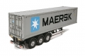 Tamiya Miscellaneous All 1/14 40ft Container Semi-Trailer