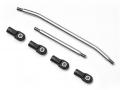 Traxxas TRX-4 Stainless Steel Steering Links for TRX4 Ackermann Steering by GRC