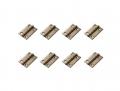 TRASPED HG-P408 1/10 Metal Door Hinges (8) by TRASPED