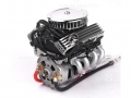 Miscellaneous All 1/10 Vintage V8 Scale Engine w/ Radiator Motor Cooling Fan Air Filter by GRC