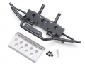 Traxxas TRX-4 Metal Front Bumper w/ Skid Plate for TRX4 Defender by ROLL SCALE