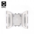 Axial SCX10 II Stainless Steel Armor for SCX10 II UMG10 90046 90060 by GRC