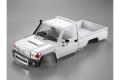 Killerbody Traxxas TRX-4 1/10 Toyota Land Cruiser 70 Hard Body Kit w/Pedal, Wheel arches, Steel mounting White (DIY)