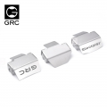 Traxxas TRX-6 Stainless Steel Axle Guard Plate Set by GRC