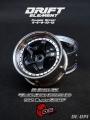 Miscellaneous All Drift Element Wheel - Adj. Offset (2) / Hi Gloss 2K Black Face Chrome Lip w/ Black Rivets by DS Racing
