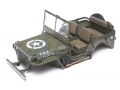 ROC Hobby ROC Hobby SCALER 1941 MB Scaler 4x4 Truck Hard Body w/ Mini Steering Servo & LEDs