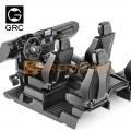 Traxxas TRX-4 Cockpit Interior Kit for TRX4 G500 & TRX6 G63 6×6 Black by GRC