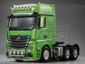 Miscellaneous All 1/14 Opening Door Actros High Space Open Side Tractor Truck (6X4) 3 Axle by Hercules Hobby