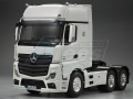 Miscellaneous All 1/14 Opening Door Actros High Space Tractor Truck (6X4) 3 Axle by Hercules Hobby