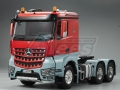 Miscellaneous All 1/14 Opening Door Actros Light Space Open Side Tractor Truck (6X4) 3 Axle by Hercules Hobby