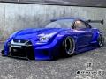 Miscellaneous All Nissan GT-R R35 LB Works Silhouette W/ Team-Tetsujin (Limited) 1/10 Lexan Body by Team-Tetsujin