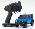 Kyosho Mini Z 4X4 Mini-Z 4x4 Suzuki Jimny Sierra Brisk Blue Metallic Ready Set by Kyosho