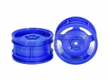Miscellaneous All Star Dish 2WD Buggy Front Wheels 2Pcs Blue by Tamiya