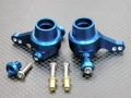 Tamiya TT-01 Aluminum Front Knuckle Arm With Collars And Screws 1 Pair Set Blue by GPM Racing
