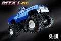 MST MTX-1 1/10 4WD MTX1 Monster Truck Kit w/ C10 Body Blue by MST