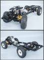 RCRUN RUN-80 1:10 Scale LC80 Metal Chassis Frame Builders Kit by RCRUN