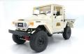 WPL C44KM 1/16 Metal Edition 4WD 2-Speed RC Crawler Kit White by WPL