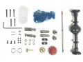 WPL D-12 Full Metal Rear Axle Upgrade Kit for WPL D-12 by WPL