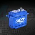 Miscellaneous All Waterproof Coreless Titanium Steel Gears Digital Servo 40KG 0.17sec @8.4V Blue by Power HD