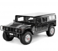 TRASPED HG-P415 1/10 GM Hummer H1 4x4 2.4G w/ LED Light & Engine Sound Module ARTR (Officially Licensed) Black by TRASPED