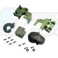 Kyosho Mini Z 4X4 CNC Aluminium GearBox For Kyosho Mini-Z Crawler 4x4 by Nexx Racing
