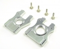 Team Losi 8IGHT Aluminum Center Diff Mount - 2 Pieces Set Silver by GPM Racing
