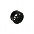 Miscellaneous All 1/10 5 Dual Spoke Rim On Road (0 Offset - 24mm) 8pcs - Black by 3Racing